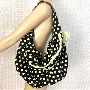 Betsey Johnson Polka Dot Shoulder Bag Rare!